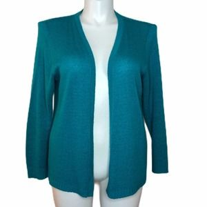 Absolutely Teal Cardigan Size 1X